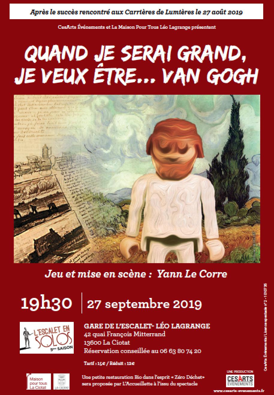 Affiche Van gogh 2019